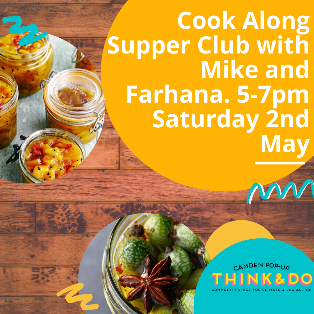 May 2: Cook-along Supper Club