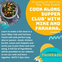 April 25: Cook-along Supper Club