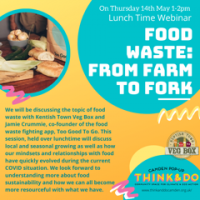 May 14: Food Waste, Sustainability