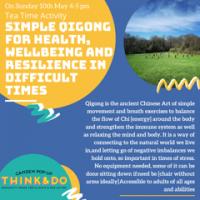 May 10: Qigong