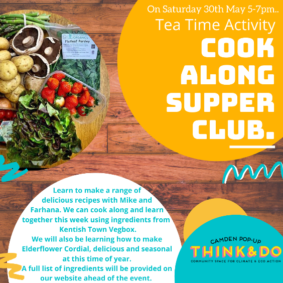 May 30: Cook-along Supper Club