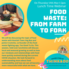 May 14: Food Waste, Sustainability
