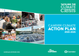 Image of Camden's Climate Action Plan
