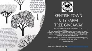 Poster for the tree giveaway